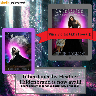 Win a digital ARC of book 3!
