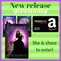 new release giveaway FB